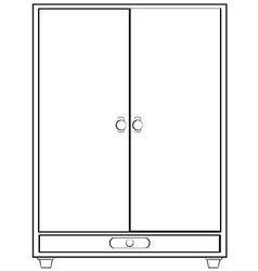 Cabinet vector image