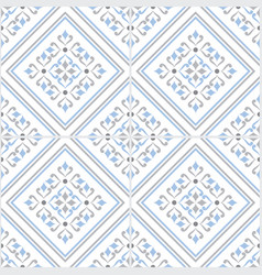 colorful tile pattern vector image