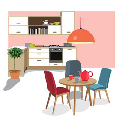 kitchen vector image