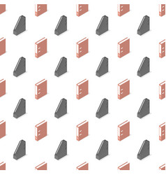 seamless background from a set office supplies vector image