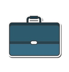 Suitcase travel business design vector
