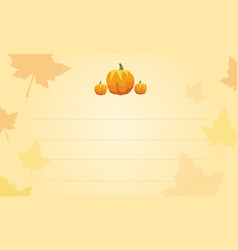 Thanksgiving background greeting card style vector
