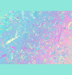 Unicorn background with rainbow mesh fantasy vector