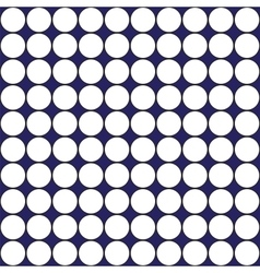 White circles on purple background abstract vector image