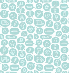 Clouds pattern vector