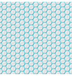 Medical pills pattern Eps8 vector image