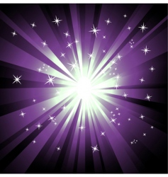 ray lights background vector image