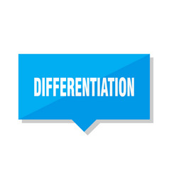 differentiation price tag vector image