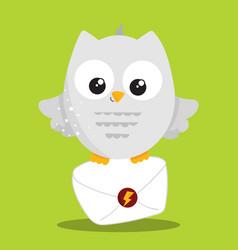 harry potter owl 06 vector image