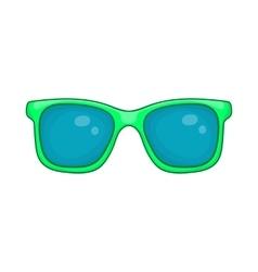 Glasses icon cartoon style vector image
