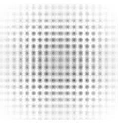 halftone circle dot pattern black abstract vector image vector image