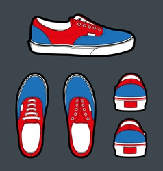 Shoes Authentic vector image