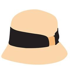 Bonnet hat vector image