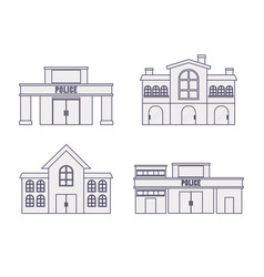 City buildings design vector