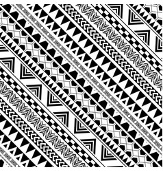 Diagonal geometric pattern in native americans vector