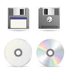 Floppy disc vector