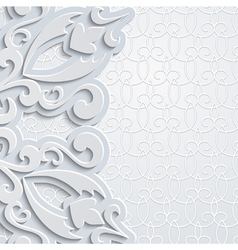 Grey backgound vector image