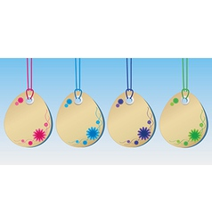 Spring tags vector image