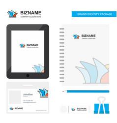 Sydney business logo tab app diary pvc employee vector