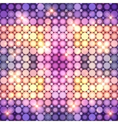 Abstract colorful disco lights background vector