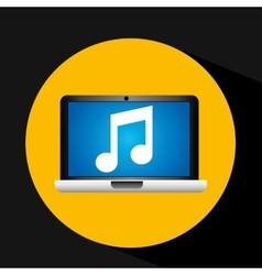 Video player social media icons design vector