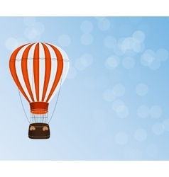 Air Balloon Background vector image