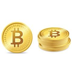 Bitcoin Symbols vector image