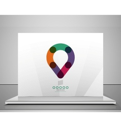 Business icon symbol concept vector image