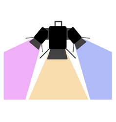 club light icon vector image