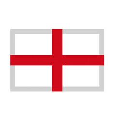 england flag pixel art cartoon retro game style vector image