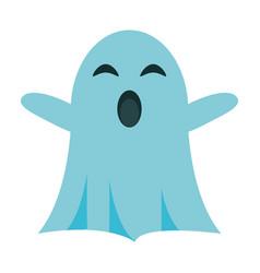 ghost cartoon icon image vector image