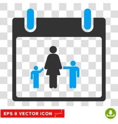 Mother calendar day eps icon vector