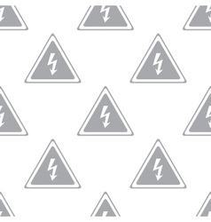 New Voltage seamless pattern vector image