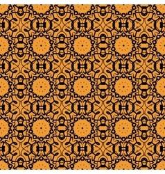Seamless oriental Print Retro Ornate Mandala vector image