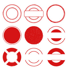 stamps 00 vector image