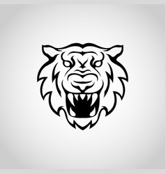 Tiger logo icon vector