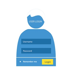 User login 52 vector