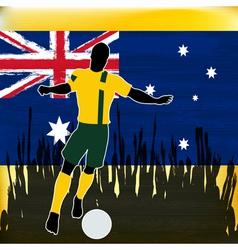 Footbal Australia vector image
