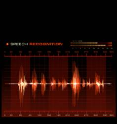 speech recognition vector image