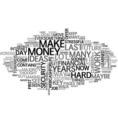 A better way maybe the only way text word cloud vector