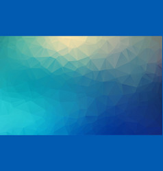 Abstract polygon background light blue blurry vector