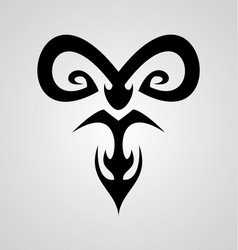 Aries Symbol vector image