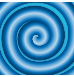 Blue background with swirl eps10 vector image