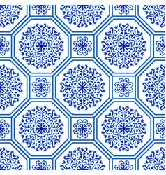 Decorative tile pattern vector