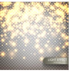 Magic luminous background vector
