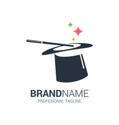 Magic shop logo vector