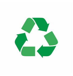 recycle icon for app web design vector image