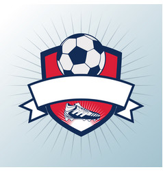 soccer cup tournament vector image