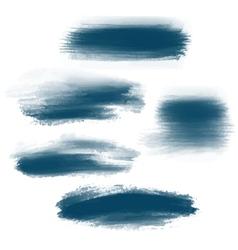 Splash brush strokes background vector