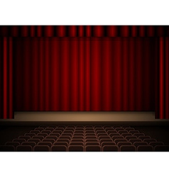 Theater interior vector image
